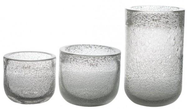 DutZ Vase Thick - Clear Bubbles